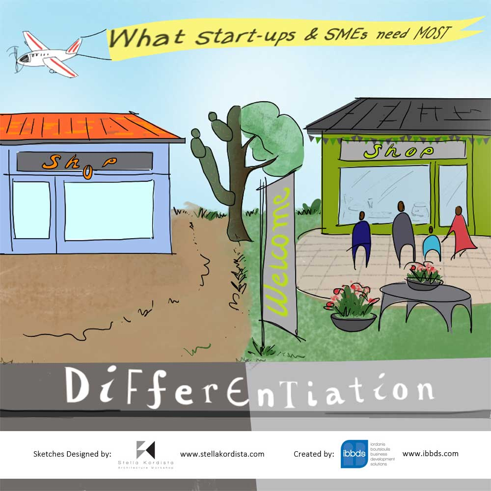 What Strat-Ups & SME's Need Most – Differentiation