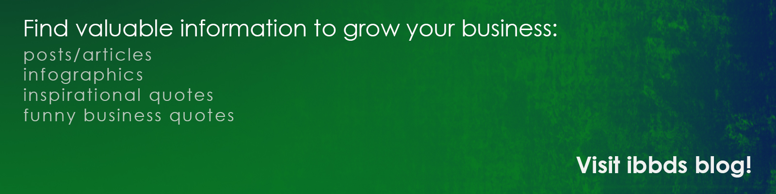 Find valuable information to grow your business