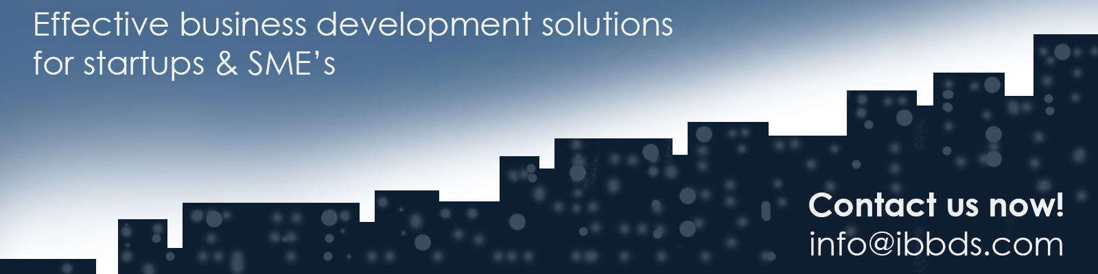 ibbds Effective business development solutions for startups and SME's
