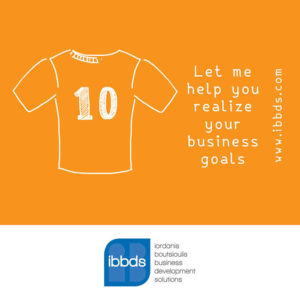 Let me help you realize your business goals by ibbds adv