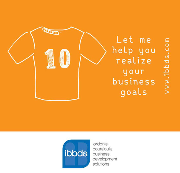 Let me help you realize your business goals by ibbds