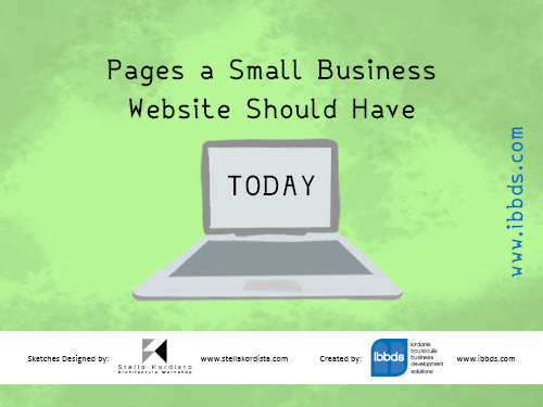 Pages a Small Business Website Should Have Today