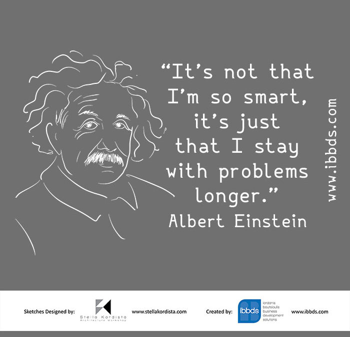 Funny Business Quotes, Albert Einstein, by ibbds