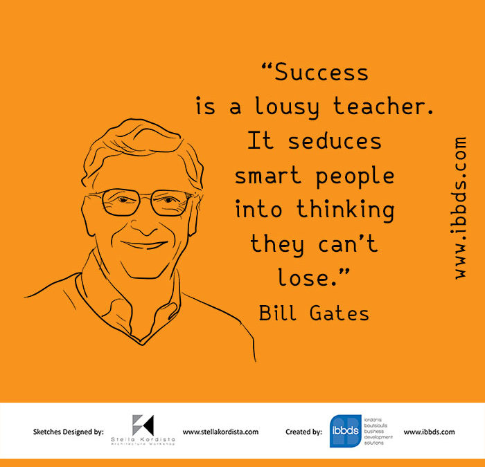 Inspirational Quotes, Bill Gates, by ibbds