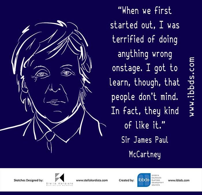 Funny Business Quotes, Paul McCartney, Onstage, by ibbds